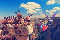 All those wild pokemon in Grand Canyon by Ninja-Jamal.deviantart.com on @DeviantArt