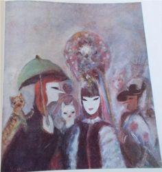 Green Umbrella - Margareta Sterian Art Database, Green, Artwork, Paintings, Artists, Kunst, Work Of Art, Auguste Rodin Artwork, Paint