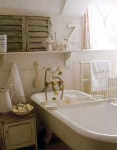 Arredare il bagno in stile romantico   Pinterest   Romantico ...
