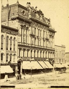The OLD Old Detroit Opera House, 1880