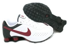 9d29d72fb304 Amazon.com  Nike Shox Classic II White Team Red Mens Running Shoes  343900-162  Shoes