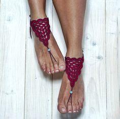 Barefoot sandals crochet pattern one piece easy crochet   Etsy Crochet Coaster Pattern, Crochet Motif Patterns, Crochet Symbols, Granny Square Crochet Pattern, Double Crochet, Single Crochet, Crochet Barefoot Sandals, Bare Foot Sandals, Chain Stitch