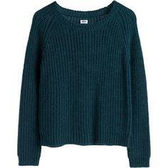 MTWTFSS Weekday Lu knit sweater Green Dark