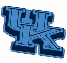Kentucky Wildcats UK Logo Cake Pan & Dessert Mold, Go Cats Cake Pan, Use for Cake, Desserts, Ice, & More! $26.00