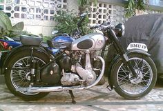 1951 BSA ZB31 Classic Motorcycle Pictures