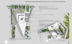 Portfolio | Projekt tarasu przy ul. Prochowej w Krakowie