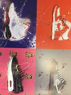 Dave White, Sneaker Pimps - graphics alive Dave White, Sneaker Posters, Objects, Year 9, Movie Posters, Movies, Graphics, Board, Films