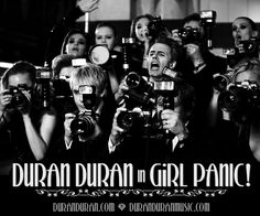 Nick Rhodes, front row, 2nd from left.  Why I love Duran Duran!!! Met him once, and he's wonderful!