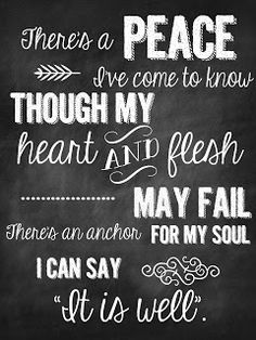"Love this blog, lots of FREE printables! Sweet Blessings: Faith Signs. From Chris Tomlin's ""I Will Rise"""