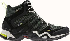 premium selection d3b21 8393a ADIDAS Terrex Fast X High GTX in Vista GreenBlackSolar Slime Adidas High
