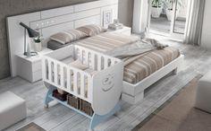 Para dormir con papá y mamá :) #cunas #bebé #muebles #Smile