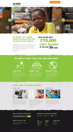 35 Best Charity and Non Profit Websites Inspiration