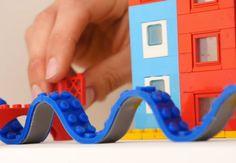 Byg i alle retninger med ny, cool byggetape til LEGO-klodser.