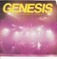 "Genesis / Tonight, Tonight, Tonight / 7"" Vinyl 45 RPM Record & Picture Sleeve #Genesis #PhilCollins #Music"