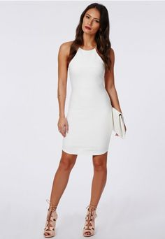 Robe blanche bustier pas cher