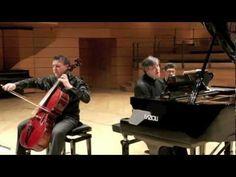 Piovano-Pappano. Brahms: Sonata n. 1 in mi minore op. 38, primo movimento