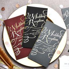 席次表DIY「イリス ダーク」\深いダークカラーが大人っぽい/(1名様分) Chalkboard Quotes, Art Quotes, Paper, Cards, Html, Wedding, Valentines Day Weddings, Maps, Weddings
