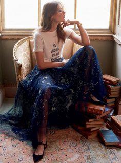 Harper's Bazaar UK April 2017 Vera Van Erp by Thomas Schenk
