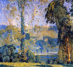 /Daniel+Garber+1880-1958+-+American+Impressionist - analogous colour example