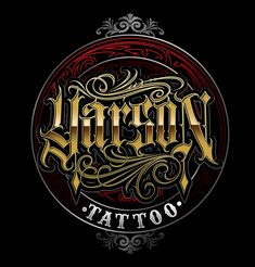yarson tattoo on Behance Chicano Lettering, Graffiti Lettering Fonts, Creative Lettering, Typography Letters, Lettering Design, Logo Design, Old Fashioned Fonts, Calligraphy Nibs, Vintage Graphic Design