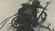ArtStation - The Plague Pillager, Stuart Kim