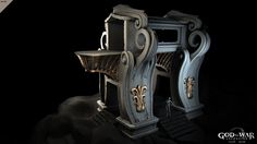 God of War :: chain tunnel highpoly, Lee Souder on ArtStation at http://www.artstation.com/artwork/god-of-war-chain-tunnel-highpoly