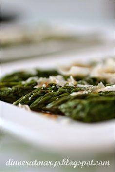 Asparagi al parmigiano