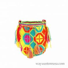 Green Wayuu Bag ~wybag-296