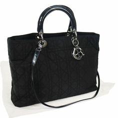 8e2d61d0f7 Catawiki online auction house: Christian Dior - Lady Dior borsa a mano Tote  bag