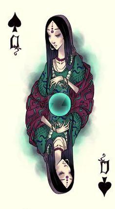 Queen of Spades by Ink-Yami on DeviantArt