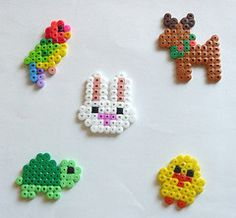 plantillas hama beads animales pequeños - Buscar con Google