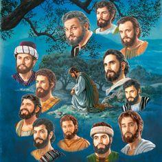 Jesus prays before choosing his twelve apostles