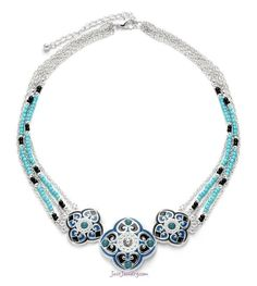 """""""Dream Come True"""" Necklace Blue & Turquoise is HOT this coming season. Teal, Blue, Summer Collection, Costume Jewelry, Jewelry Collection, Turquoise Bracelet, Fashion Jewelry, Product Launch, Boutique"""