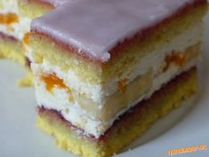 Czech Recipes, Russian Recipes, Dessert Bars, Sweet Tooth, Cheesecake, Deserts, Food And Drink, Favorite Recipes, Sweets