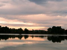 Michigan sunset in Autumn 2014. #michigan #autumn #sunset #genkikitty