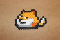 Doge Perler Beads  Internet Meme Dog by TiffysCreativeCrafts