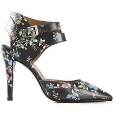 new arrival 09bf9 b22ff Laurence Dacade Gindy Floral Pumps