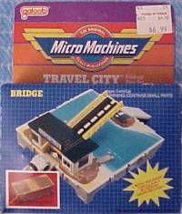 Micro Machines toll bridge