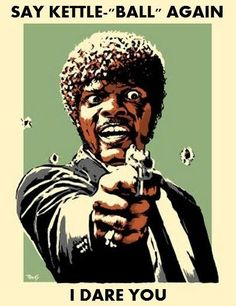 Say YOLO again! - Funny poster of Samuel L. Jackson as Jules from Pulp Fiction. Say YOLO again! Gym Humor, Workout Humor, Fitness Humor, Crossfit Humor, Funny Fitness, Gym Memes, Funny Memes, Jokes, Arte Pulp Fiction