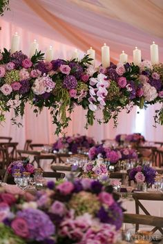 A Gorgeous Mountaintop Wedding From Our Current Issue - WedLuxe Magazine Pink Purple Wedding, Pink Wedding Theme, Rose Wedding, Tangled Wedding, Wedding Flats, Wedding Nails, Wedding Flower Arrangements, Wedding Bouquets, Purple Bouquets