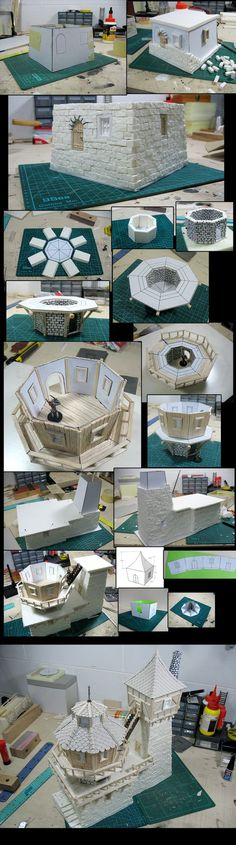 """""""That"""" observatory rendered into an actual model."""