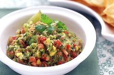 Party food is a cinch with this creamy chip dip classic featuring nutty avocado.