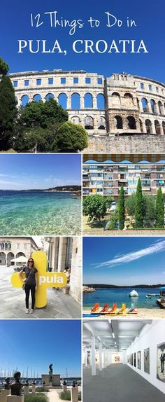 From beaches (OMG), to museums, to parks, and lots of delicious food. Pula, Croatia has plenty of activities to offer for those willing to explore. Visit Croatia, Croatia Travel, Dubrovnik, Les Balkans, Voyage Europe, Eurotrip, European Travel, Day Trip, Dream Vacations