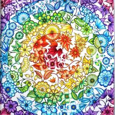 #johannabasford #secretgarden #prismacolors