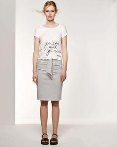 DAMES TRICOT ROK Wit - WE fashion. €10,00