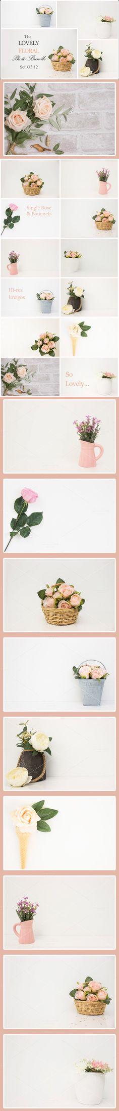 The Lovely Floral Bundle & Set of 12