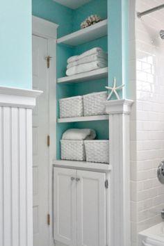 Cute Coastal Bathroom Decor Ideas