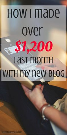 She's doing such a great job making money online from her blog. This blogger…