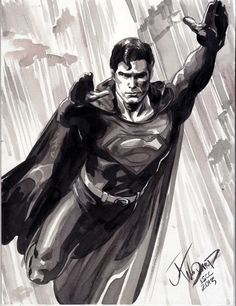 Superman by J.K Woodward