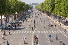 Pedestrians Will Take Over Paris For 'A Day Without Car'